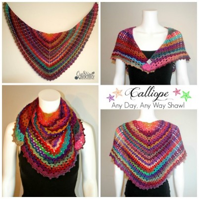 ~Calliope Any Day Any Way Shawl`
