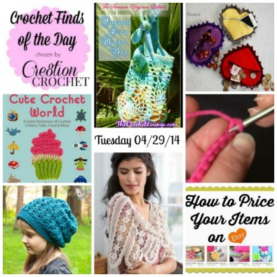Cre8tion Crochet's Finds of the Day Tuesday April 29 2014 #freecrochetpatterns