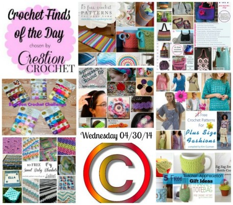 Cre8tion Crochet's Finds of the Day Wednesday April 30 2014