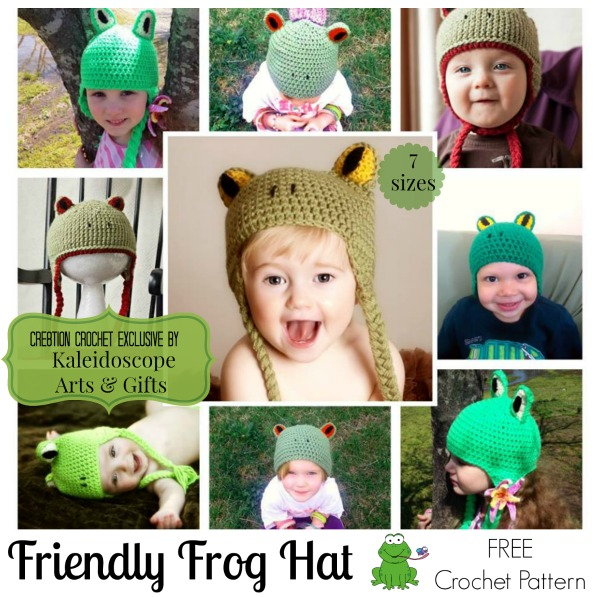 Friendly Frog Hat