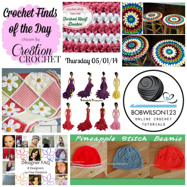 Cre8tion Crochet's Finds of the Day Thursday 05/01/14