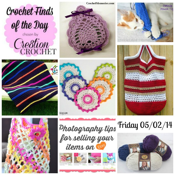 Cre8tion Crochet's Finds of the Day Friday 05/02/14