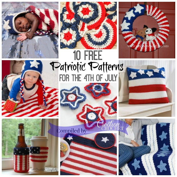 America The Beautiful Free Pattern Round Up
