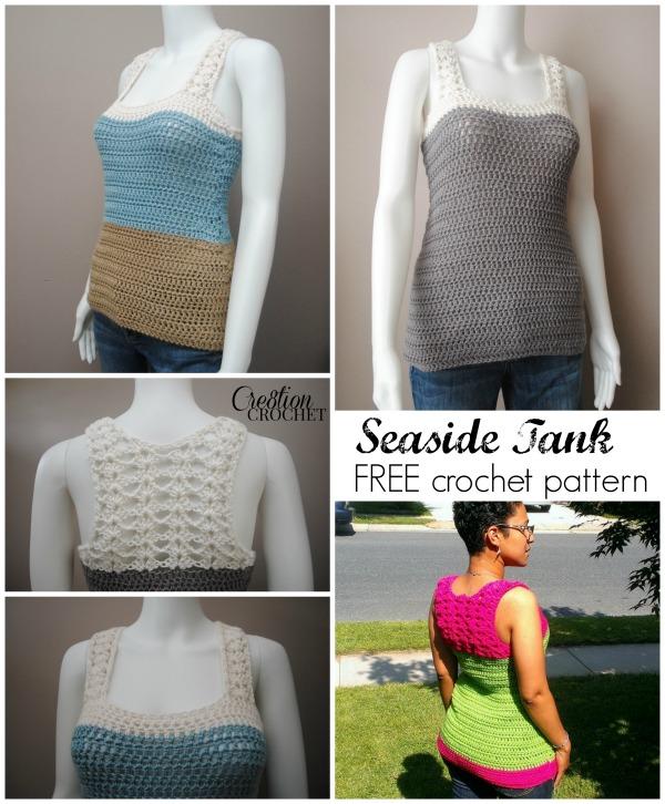 Seaside Tank Free Pattern