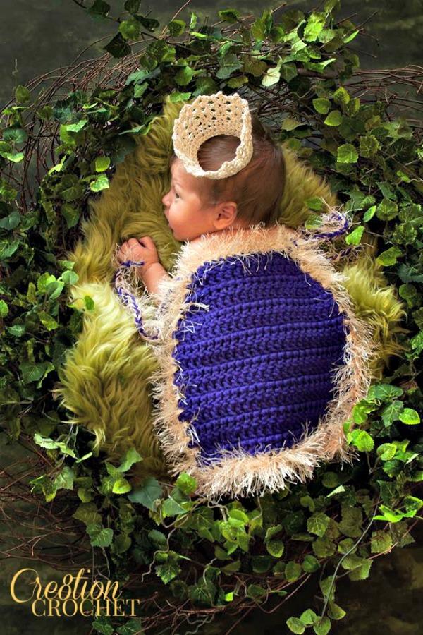 Kings Cape Infant Photo Prop Cre8tion Crochet