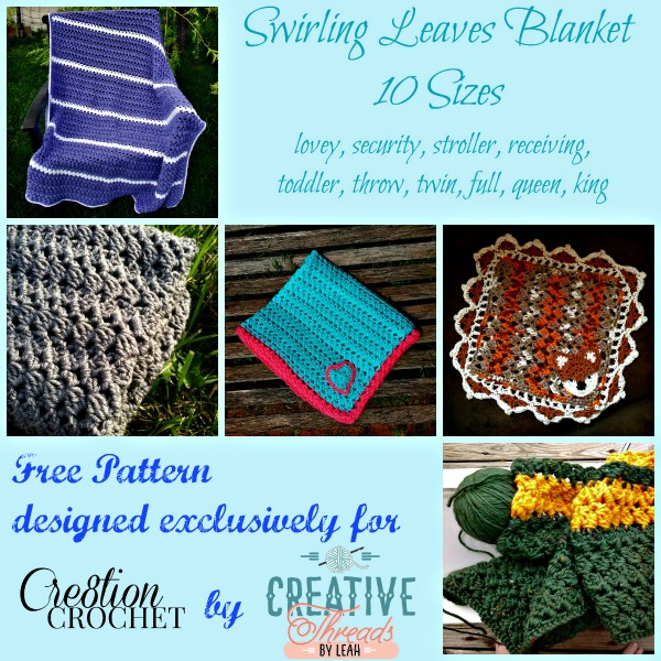Swirling Leaves Blanket