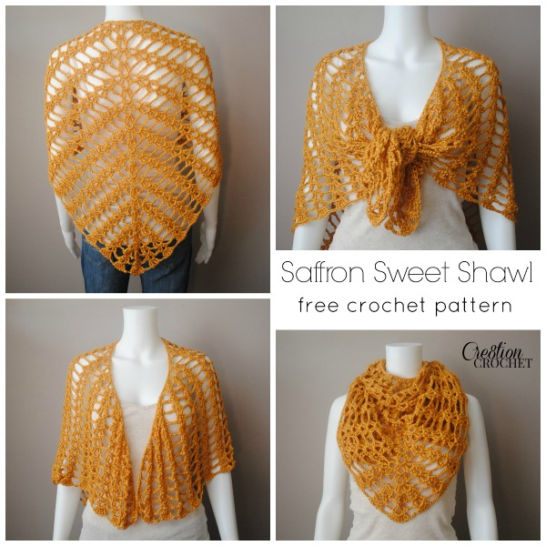 Saffron Sweet Shawl