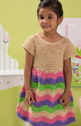 Children's Chevron Dress