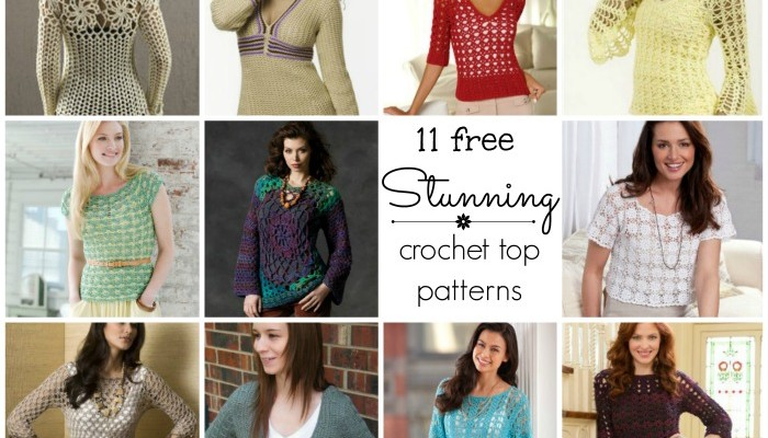 11 Stunning Crochet Tops