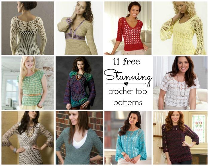 11 Stunning Crochet Tops - Cre8tion Crochet