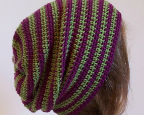 Crochet Finds of the Day November 16, 2014 Slouch Hat
