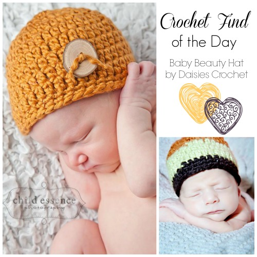 Crochet Finds November 29, 2014 Free Newborn Crochet Hat Pattern