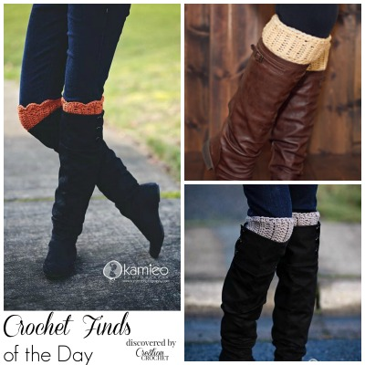 Crochet Finds November 18, 2014 Crochet Boot Cuff Pattern