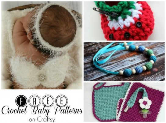 FREE Crochet Baby Patterns on Craftsy a sponsored post by #cre8tioncrochet