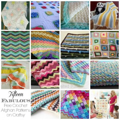 Fifteen Fabulous Free Crochet Afghan Patterns on Craftsy
