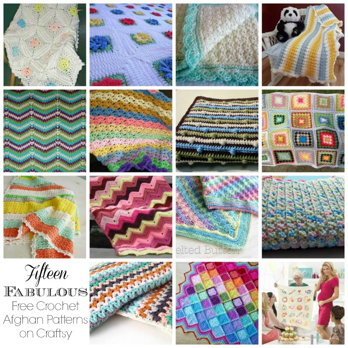 Fifteen Fabulous Free Crochet Afghan Patterns On Craftsy Cre8tion