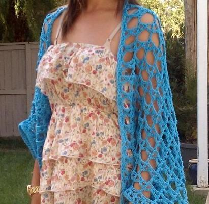 Crochet Finds November 26, 2014 Free Crochet Shrug Pattern