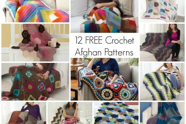 12 Free Crochet Afghan Patterns