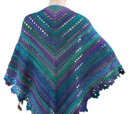 Crochet Finds November 23, 2014 Crochet Shawl Pattern
