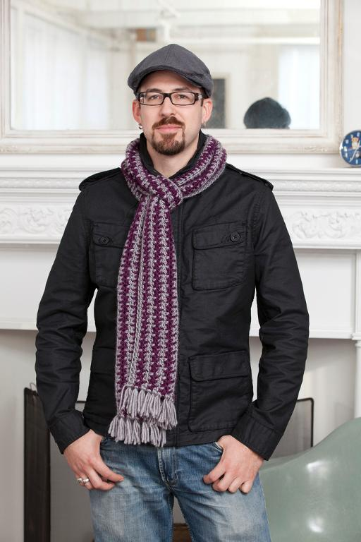 Crochet Finds November 25 2014 Mens Crochet Scarf Pattern
