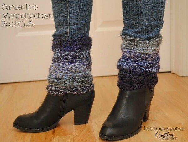 Free Crochet Boot Cuff Pattern - Cre8tion Crochet
