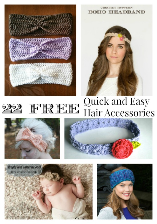 Crochet Round Up Quick And Easy Crochet Accessories Part 3