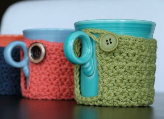 Crochet Finds December 03, 2014 Free Coffee Cup Cozy Pattern