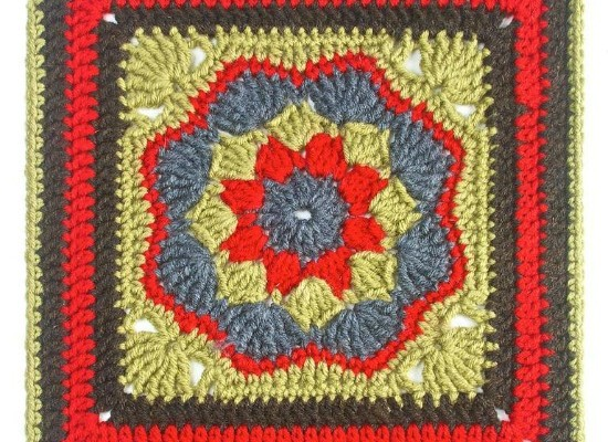 Crochet Finds December 10, 2014 Crochet Square Pattern