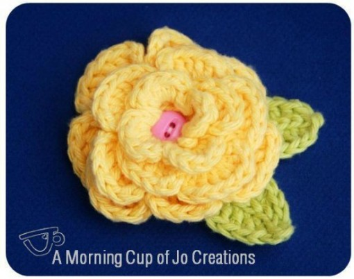 Crochet Find December 05, 2014 Free Crochet Flower
