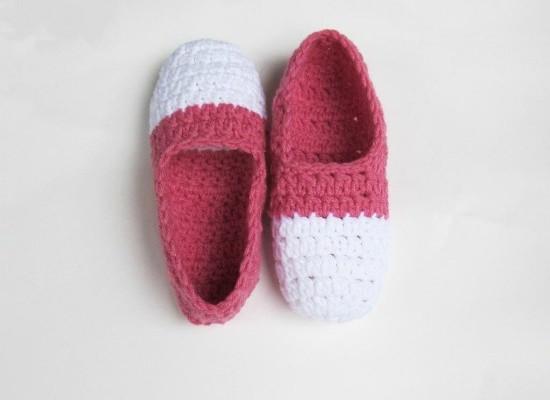 Crochet Find December 07, 2014 Free Crochet Slippers Pattern