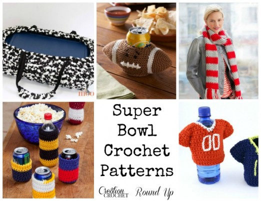 6 Free Super Bowl 2015  Crochet Patterns for the big game