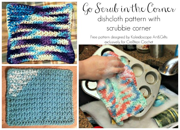 Go Scrub In The Corner Dishcloth Pattern Cre8tion Crochet