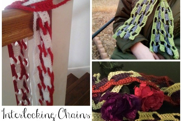 Interlocking Chains Scarf