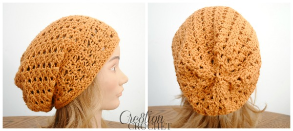 The Trinity Slouch A Free Slouchy Hat Pattern Cre8tion Crochet