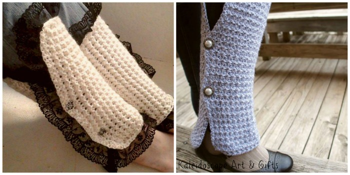 Free Crochet Leg Warmers Mara Collection - Cre8tion Crochet