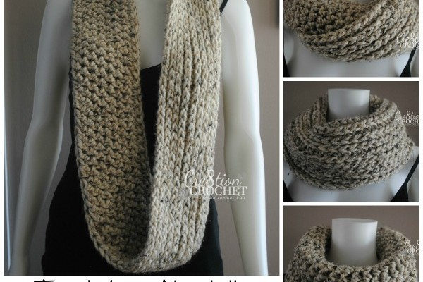 Free Infinity Scarf Pattern Two Ways About It