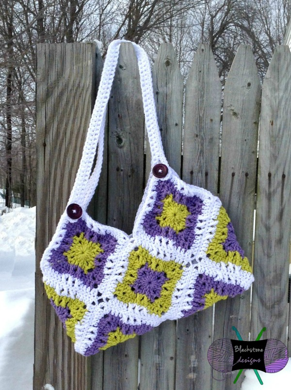 4 Crochet Square Patterns