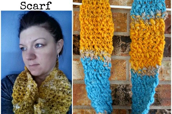 Simple TnT Infinity Scarf pattern