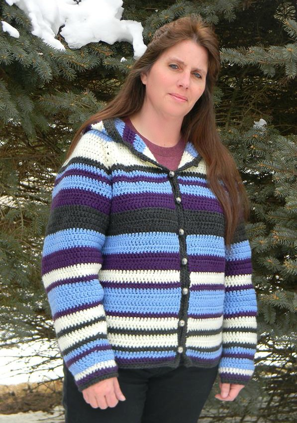 Adult Striped Hoodie New Pattern Release