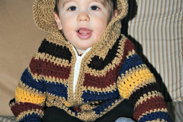 Baby Striped Hoodie New Pattern Release