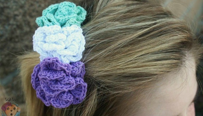 Free Hair Accessory Pattern The Pixie Blossom Hair Comb