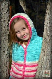Ravelry Striped Hoodie Child