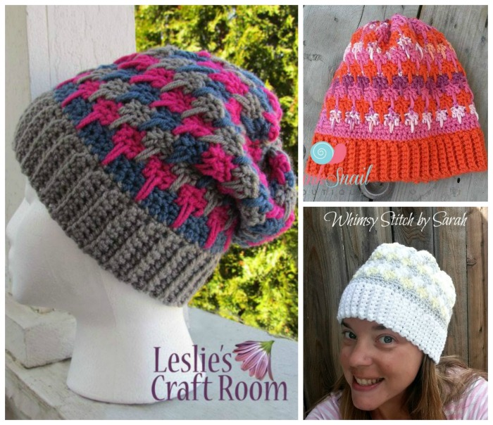 Free Crochet Stocking Hat Patterns For Adults : Tutti Fruit free crochet hat - Cre8tion Crochet