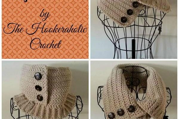 Emma Trifecta free crochet cowl