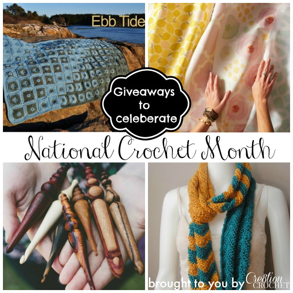 national crochet month giveaways to celeberate by #cre8tioncrochet
