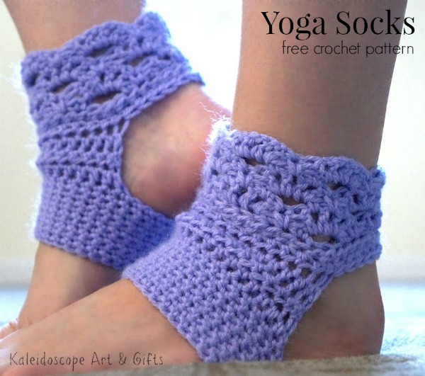 Free And Easy Crochet Patterns For Socks : Perfect Harmony Yoga Socks free crochet pattern - Cre8tion ...