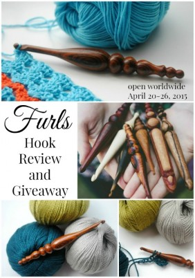 Furls Hook Review and Giveaway on Cre8tion Crochet.  Exquisite Luxury Hooks.  Giveaway open worldwide April 20-26, 2015