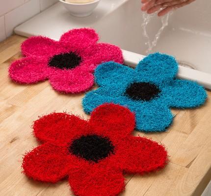 Flower Dish Scrubber