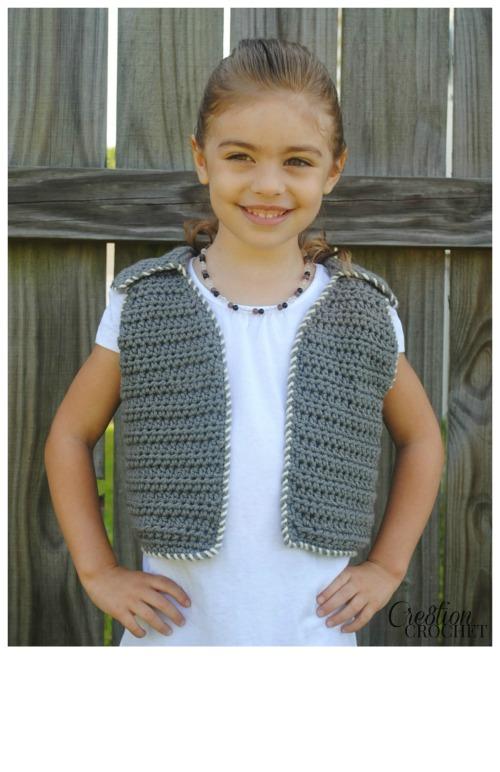 It Seams That Way Crochet Vest Pattern Cre8tion Crochet