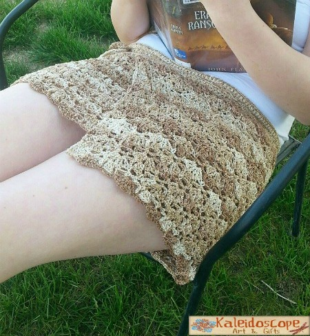 Lovely Lily Swim cover-up free crochet pattern